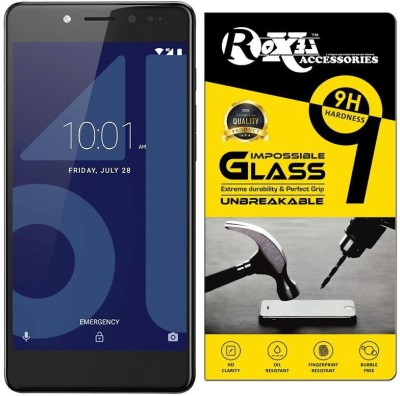Roxel Impossible Screen Guard for 10.or E (Beyond Black, 3 GB)(Pack of 1)