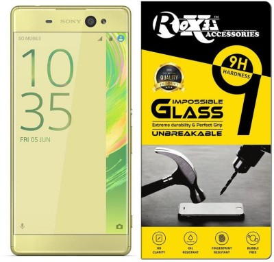 Roxel Impossible Screen Guard for Sony Xperia XA Ultra Dual F3216 (Lime Gold)(Pack of 1)