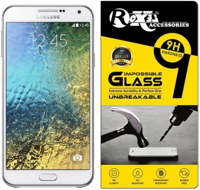 Roxel Impossible Screen Guard for Samsung Galaxy E7 (White, 16GB)(Pack of 1)