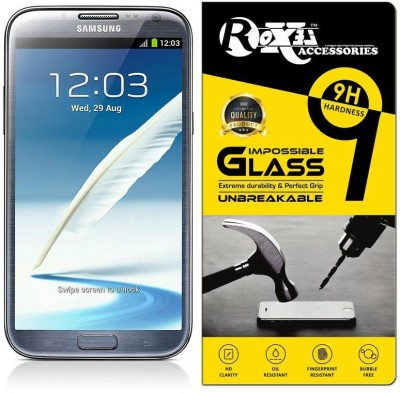 Roxel Impossible Screen Guard for Samsung Galaxy Note 2(Pack of 1)