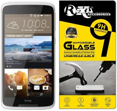 Roxel Impossible Screen Guard for HTC Desire 828 Dual SIM (Pearl White, 32 GB)(Pack of 1)