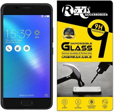 Roxel Impossible Screen Guard for Asus Zenfone 3s Max (Black, 32 GB)(Pack of 1)
