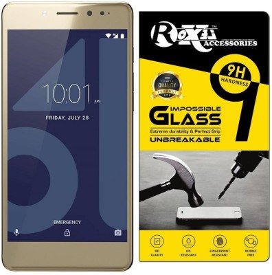 Roxel Impossible Screen Guard for 10.or E (Aim Gold, 3 GB)(Pack of 1)