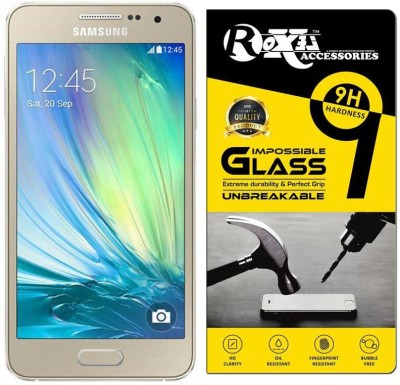 Roxel Impossible Screen Guard for Samsung Galaxy A3(Pack of 1)