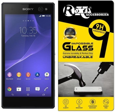 Roxel Impossible Screen Guard for Sony Xperia C3(Pack of 1)