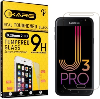 iKare Tempered Glass Guard for Samsung Galaxy J3 Pro