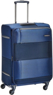 Samsonite SAM PATCH SP 55 EXP-NAVY/BLUE Check-in Luggage - 21.45 inch(Blue)
