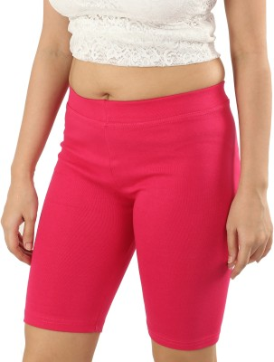 E mart Solid Women Pink Tights