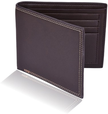 Accezory Men Brown Artificial Leather Wallet 6 Card Slots Accezory Wallets