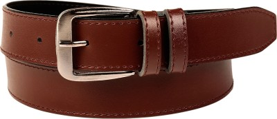 Fedrigo Men Casual, Formal, Party, Evening Brown Artificial Leather Belt