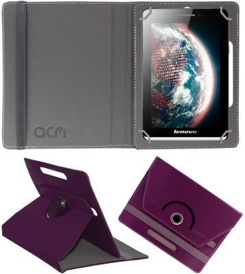 ACM Book Cover for Lenovo Ideatab S5000(Purple)