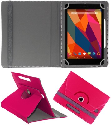 ACM Book Cover for Micromax Canvas Tab P680(Pink)