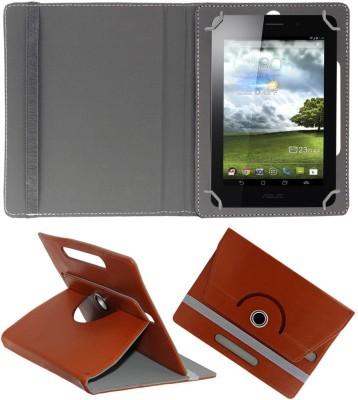 ACM Book Cover for Asus Fonepad 7 inch(Brown)