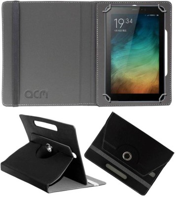 ACM Book Cover for Micromax Canvas Tab P701 Plus 7 inch(Black, Cases with Holder)