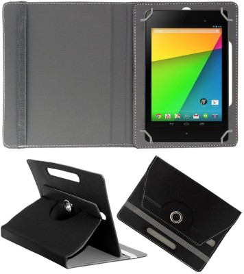 ACM Flip Cover for Asus Google Nexus 7 Fhd 2013(Black, Cases with Holder)