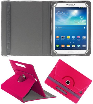 ACM Flip Cover for Samsung Galaxy Tab 3 T311(Pink, Cases with Holder)