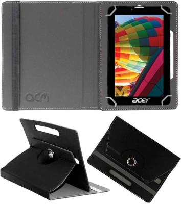 ACM Flip Cover for Acer One 7 (Namo E-Tab)(Black, Cases with Holder, Artificial Leather)