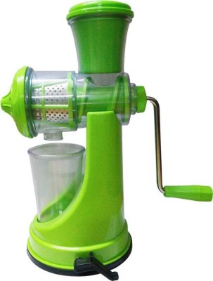 Snowpearl Manual Fruit & Vegetable Plastic Hand Juicer(Multicolor Pack of 1) at flipkart