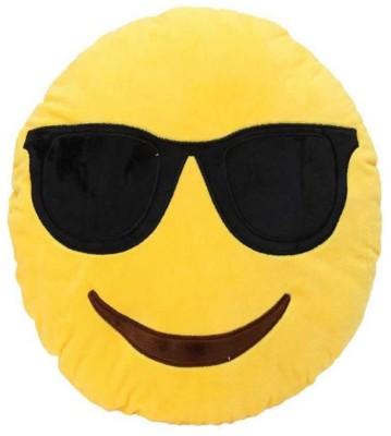 Galaxy World Deals India Yellow Smiley Cushion   35 cm Yellow Galaxy World Soft Toys