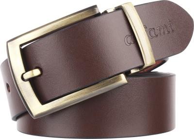 URBAN ALFAMI Men Party, Formal, Casual Brown Genuine Leather Belt
