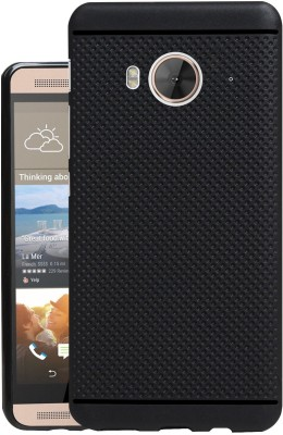 Jkobi Back Cover for HTC one me(Black, Rubber)