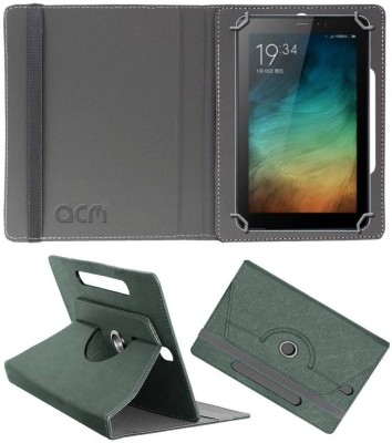 ACM Book Cover for Micromax Canvas Tab P701 Plus 7 inch(Grey, Cases with Holder)