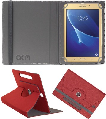 ACM Book Cover for Samsung Galaxy J Max 7 inch(Red)