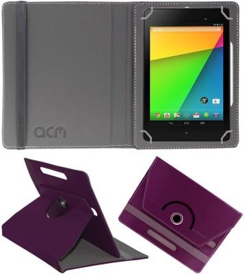 ACM Flip Cover for Asus Google Nexus 7c 2013(Purple, Cases with Holder)