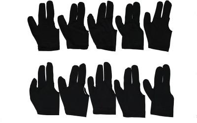Laxmi Ganesh Billiard 1170 10x Black 3 finger Billiards Snooker and Pool Gloves Snooker, Pool, Billiards Cue Stick(Polyresin)