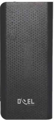 Doel 13000 Power Bank (13000 mAh Power Bank With Three USB Port, DI060-BL)(Black, Lithium-ion)