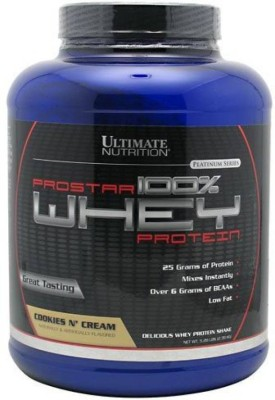 Ultimate Nutrition Prostar 100% Whey Protein(2.39 kg, Cookies N
