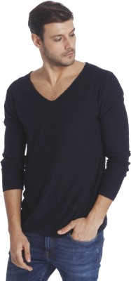 Jack & Jones V-neck Solid Men Pullover