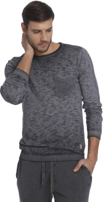 Jack & Jones Round Neck Solid Men Pullover at flipkart