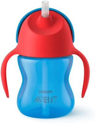 Philips straw cup blue and red 9m+ 200ml(blue & red)