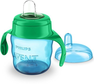 Philips Avent Classic Soft Spout Cup, 200ml (Green/Blue)(grean & blue)