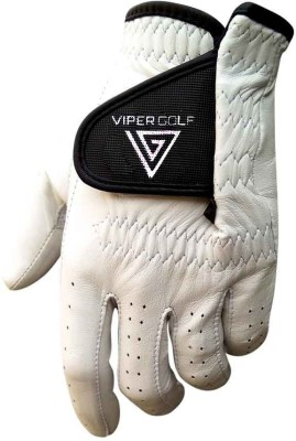 Viper Golf All Weather Glove Golf Gloves (S, White)