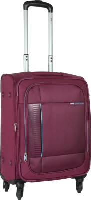 VIP Lattice Expandable  Cabin Luggage - 22 inch(Purple)