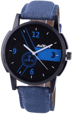 AXTON AXG- 0008 Analog Black and Blue Dial Unisex Watch Analog Watch  - For Men