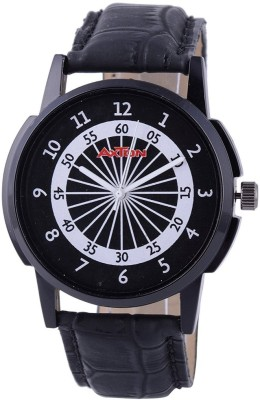 AXTON AXG- 0002 Analog Black and White Dial Unisex Watch Analog Watch  - For Men