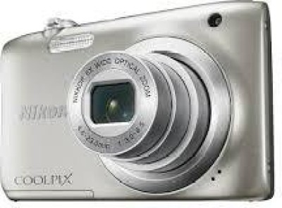 Nikon Coolpix A100 Point and Shoot Camera(20.1 MP, 5x Optical Zoom, 5x Digital Zoom, Silver) 1
