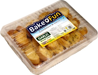Bakeofun Garlic Toast Garlic Butter flavored Buttermilk Rusk(200 g)