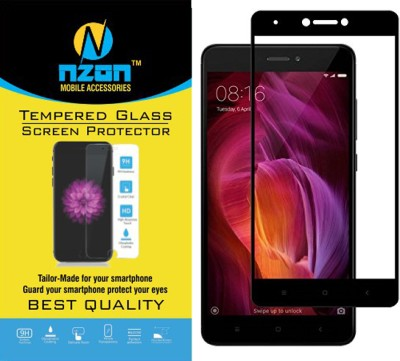 nzon Tempered Glass Guard for Mi Redmi Note 4 Pack of 1 nzon Screen Guards