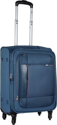 VIP Lattice Expandable  Cabin Luggage - 22 inch(Blue)
