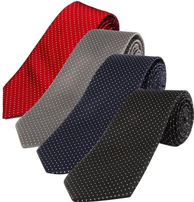 Seerat Polka Print Tie(Pack of 4) at flipkart
