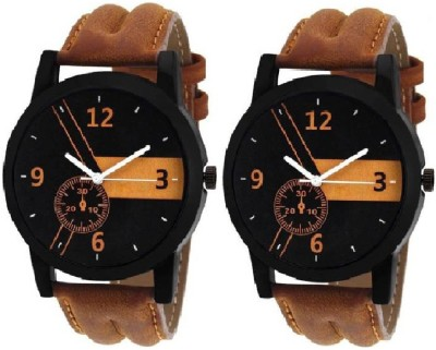 lavishable New Stylish Leather Strap 001 Watch - For Men Watch  - For Men