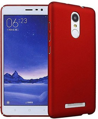 Phonicz Retails Back Cover for Mi Redmi Note 3 Red