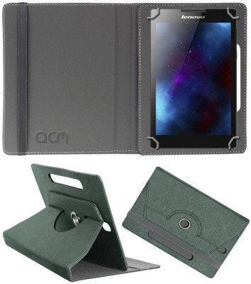 ACM Book Cover for Lenovo Tab 2 A7-30hc(Grey, Cases with Holder)