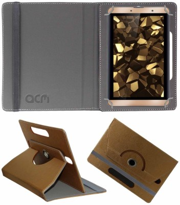 ACM Book Cover for iBall Slide Snap 7 inch(Gold)