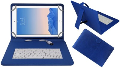 ACM Keyboard Case for Apple iPad Air 2 9.7 inch(Blue, Cases with Holder)