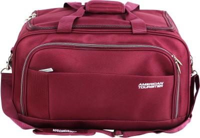 American Tourister Samos 55 cm Duffle On Wheels (Magenta) Travel Duffel Bag(Red)